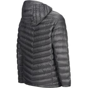 Peak Performance Ice Down Hooded Jacket Men Quiet Grey